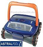 ASTRAL Max 3(Max3)–Nouveauté mondiale de piscine Nettoyeur automatique Aspirateur pour piscine–robot de piscine–Aspirateur de sol avec 4roues motrices pour une propreté de Moteur de piscine...