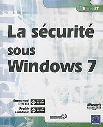 La sécurité sous Windows 7