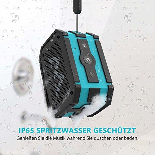 Mpow Bluetooth Lautsprecher – Tragbar Drahtlos Bluetooth Outdoor - 2