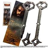 Der Hobbit - Thorins Schlüssel, Stift mit 3D Lesezeichen, Geschenk für Hobbit Fans
