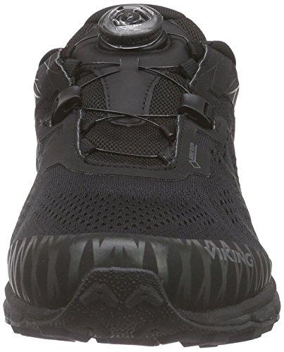 Viking Apex Ii Gtx, Chaussures de Trail homme Noir - Schwarz (Black 2)
