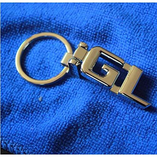 LBPLWY Auto schlüsselbund Schlüsselanhänger,Schlüsselringe Neu Für Mercedes Benz ABCESR GL Schlüsselanhänger SLK GLK CLS GLC ML GLE 3D Auto Keychain Metallschlüsselring Schlüsselanhänger Ri