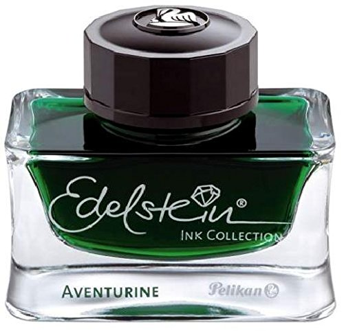 Tintenglas 50ml Aventurin grün PELIKAN 339366 Edelstein EIGR