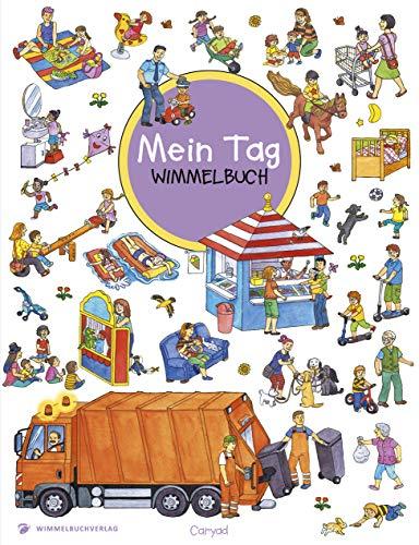 Wimmelbuch: Mein Tag - Kinderbücher ab 2 Jahre (Bilderbuch ab 2-4 Mädchen und Jungen)