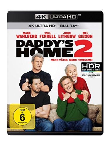 Daddy's Home 2: Mehr Väter, mehr Probleme! - Ultra HD Blu-ray [4k + Blu-ray Disc]