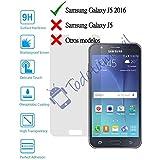 Protector de Pantalla Cristal Templado Vidrio 9H para Samsung Galaxy J5 2016