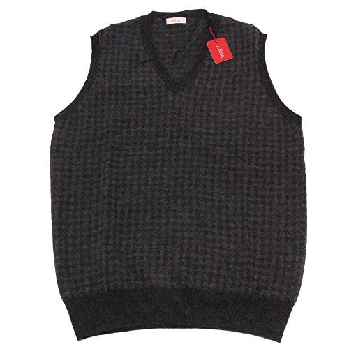 5541Q gilet uomo ALTEA smanicato lana grigio grey sleeveless sweater men Grigio