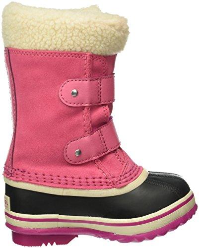 Sorel Unisex-Kinder  1964 Pac Strap Schneestiefel Pink (Tropic Pink 652Tropic Pink 652)