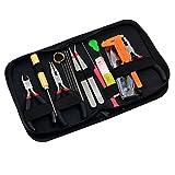 Sharplace 19pezzi Kit Strumento Per Lavorazione Perline Creazione Gioielli In Scatola