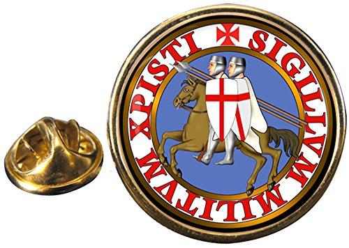 Caballeros Templarios Masónico Pin De Solapa