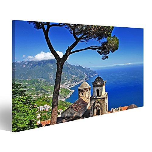islandburner Bild Bilder auf Leinwand malerisches Italien - Ravello, Amalfi-Küste Wandbild, Poster, Leinwandbild KEH