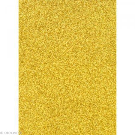 m brillant, 1 Bogen, gold (Gold Bögen)