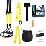 LIHAO Schlingentrainer Suspensiontrainer Pro Functional Training Fitness Gelb