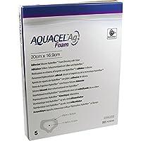 AQUACEL Ag Foam adhäsiv Sakral 20x16,9 cm Verband 5 St Verband preisvergleich bei billige-tabletten.eu