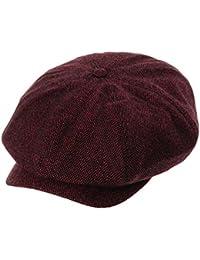 195fd3e230c8a WITHMOONS Sombreros Gorras Boinas Bombines Newsboy Hat Wool Felt Simple  Gatsby Ivy Cap SL3525