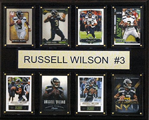 C & I Collectables NFL Seattle Seahawks Russell Wilson gefaltet Plaque, 12x 15Zoll