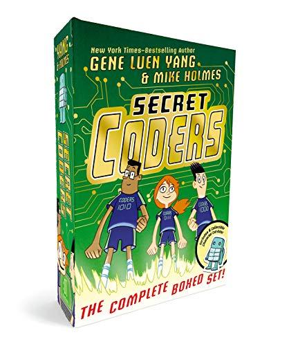 Secret Coders: The Complete Boxed Set: (secret Coders, Paths & Portals, Secrets & Sequences, Robots & Repeats, Potions & Parameters, Monsters & Module