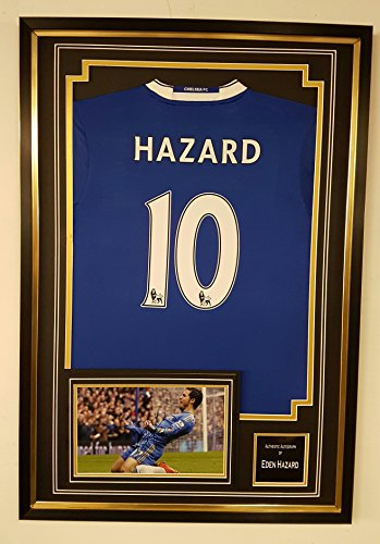 EDEN-HAZARD-of-Chelsea-Signed-Photo-and-Shirt