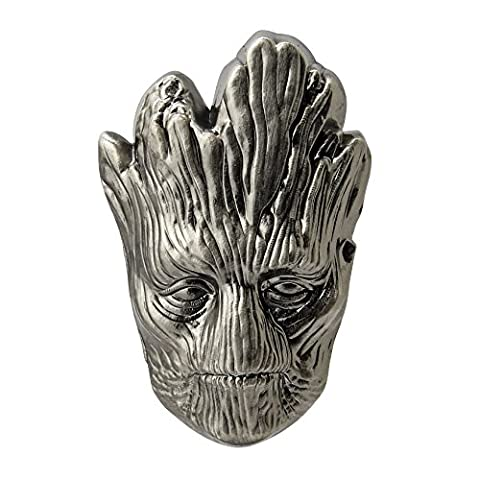 Marvel Guardians Of The Galaxy Groot Head Pewter Lapel Pin