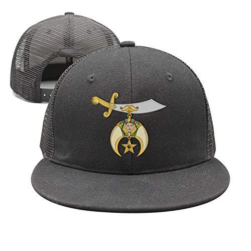 Logo of Shriners International Vintage Washed Dyed Cotton Twill Low Profile Adjustable Baseball Cap