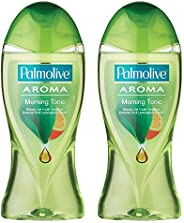 Palmolive Body Wash Aroma Morning Tonic Shower Gel - 250ml (Pack of 2)