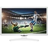 "TV LG 24MT49VW-WZ 24"" HD Blanc LED - LED TVs (61 cm (24""), HD, 1366 x 768 pixels, LED, 250 cd/m², 5 ms"