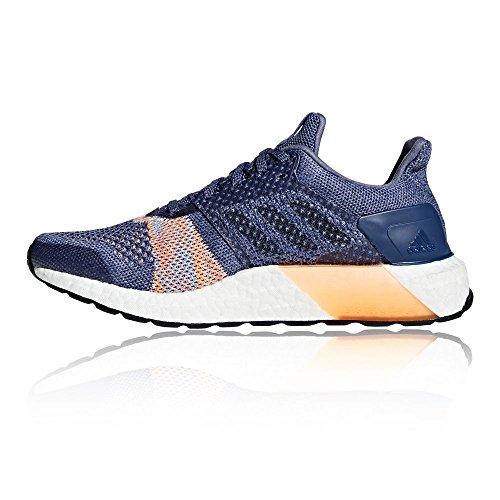 adidas Damen Ultraboost St W Laufschuhe, Blau lila / orange