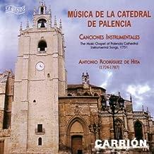 Antonio Ródríguez de Hita: Música de la Catedral de Palencia. Canciones Instrumentales