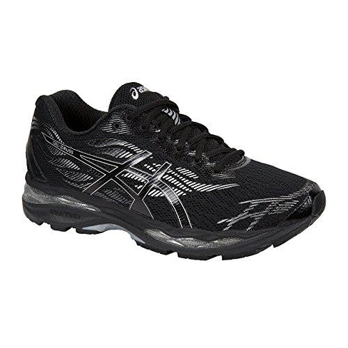 ASICS Gel-Ziruss Hommes Running T7J1N Sneakers Chaussures (UK 8.5 US 9.5 EU 43.5, Black Silver 9090)