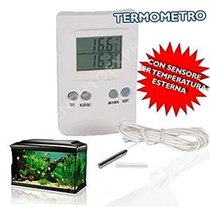 SONDE THERMOMÈTRE NUMÉRIQUE PROFESSIONNEL AVEC OUTDOOR INDOOR LCD DISPLAY 874 071