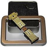 Souvenir Griechenland | Geschenkidee: USB-Stick mit Schlüsselanhänger in Form einer griechischen Säule für Frauen & Männer | inklusive Fotogalerie von Sehenswürdigkeiten in Griechenland | Memory Stick 2 GB | CultourStix