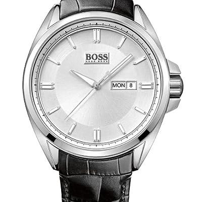 Hugo Boss 1512875 - Reloj analógico de cuarzo para hombre con correa de piel, color negro de Hugo Boss