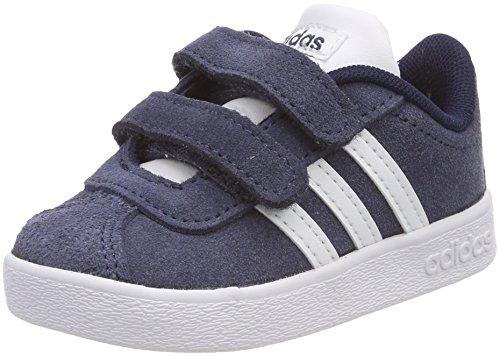 Adidas VL Court 2.0 CMF I, Zapatillas de Estar por casa Bebé...