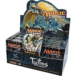 MTG - Carte Magic - Traîtres de Kamigawa Lot de 4 Deck Noire Dévotion,Arts Spirituels,Ninjutsu et Nid de Rats VF