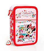ASTUCCIO 3 ZIP DISNEY MINNIE 33224 3 ZIP ACCESSORIATO
