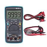 Level Tura de Temperatura de tensión RMS Multímetros Digitales de múltiples Funciones de AC/DC capacitancia probadores