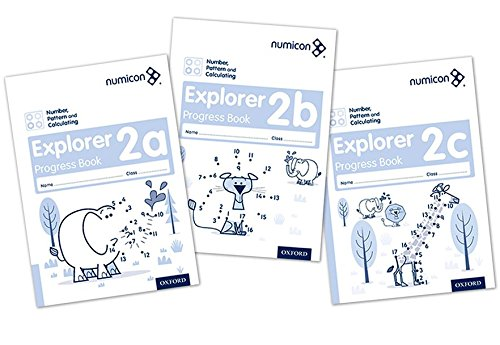 Numicon: Number, Pattern and Calculating 2 Explorer Progress Books ABC (Mixed pack) por Ruth Atkinson