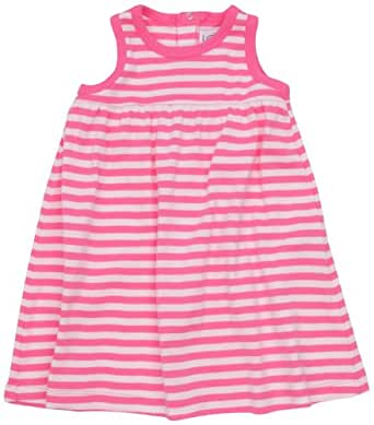 Petit Bateau Prose - Robe - Bébé Fille - Multicolore (Summer/Charmeuse) - 12 Mois