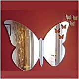 Baby Butterflies out  of Butterfly Mirror 12cm