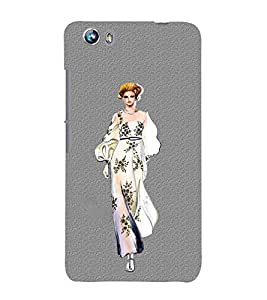 Girl on Ramp 3D Hard Polycarbonate Designer Back Case Cover for Micromax Canvas Fire 4 A107