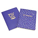 You've Got This & Get Stuff Done A6 Set of 2 Lined Notebooks Journal Diaries