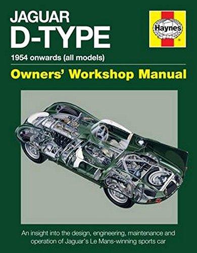 Jaguar D-Type Owners' Workshop Manual: 1954 onwards (all models) por Chas Parker