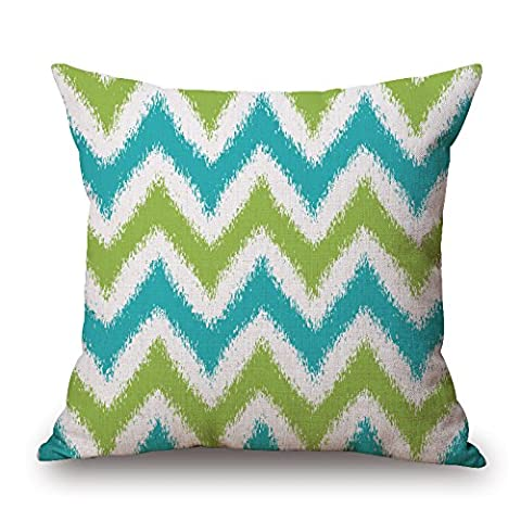 Bestseason Geometric Throw Pillow case/Kissenbezüge 20 X 20 Inches / 50 By 50 Cm Gift Or Decor For Car Seat,living Room,bedding,indoor,wife,home - 2 Sides