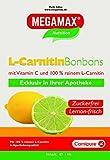 MEGAMAX L-Carnitin Bonbons mit 100 mg Reinem L-Carnipure Pro BonBon. Inhalt: 1 kg