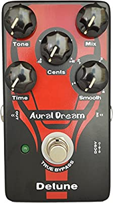 Aural Dream Detune Guitar Pedal Pitch Box 4 modes Effect Cents Shifter similar to Chorus but more funny