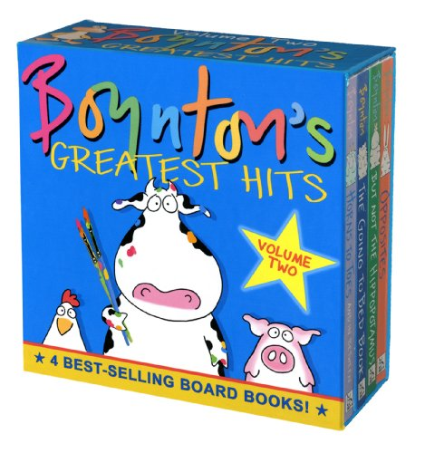 Boynton's Greatest Hits Volume 2: The Going-to-Bed Book; Horns to...