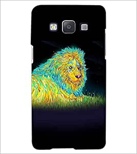 SAMSUNG GALAXY E5 LION Designer Back Cover Case By PRINTSWAG