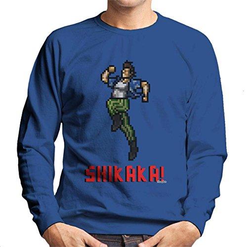 Ace Ventura Shikaka Pixellated Men's Sweatshirt