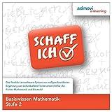 Basiswissen Mathematik Stufe 2: Schaff-Ich - Lernsoftware Mathematik zur individuellen Förderung Jugendlicher und junger Erwachsener zur Vorbereitung auf den Schulabschluss