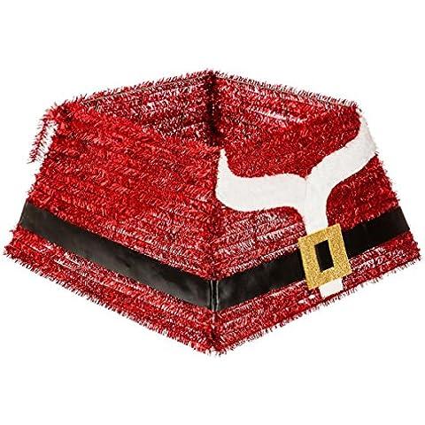 Decorazione natalizia - Copri base per albero di Natale - decorazione vestito di Babbo Natale